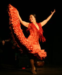Nanako Aramaki - flamenco dancer in London