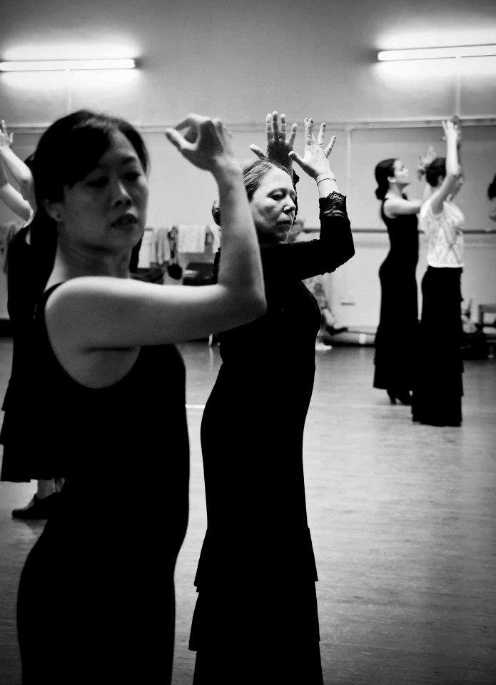 Flamenco classes at La Escuela de Baile - London UK