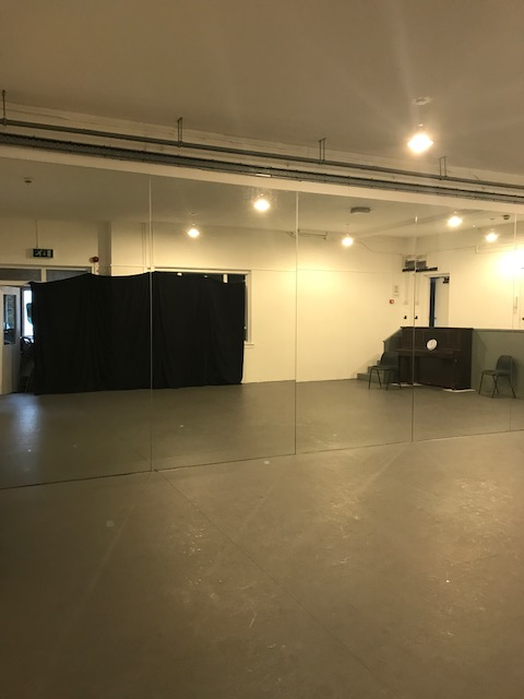dance studio, flamenco studio, venue for hire - small studio - London