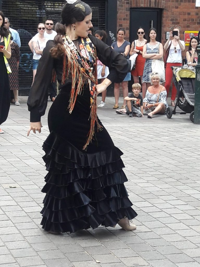 Portobello Festival 2018 1 - La Escuela de Baile - London Flamenco School