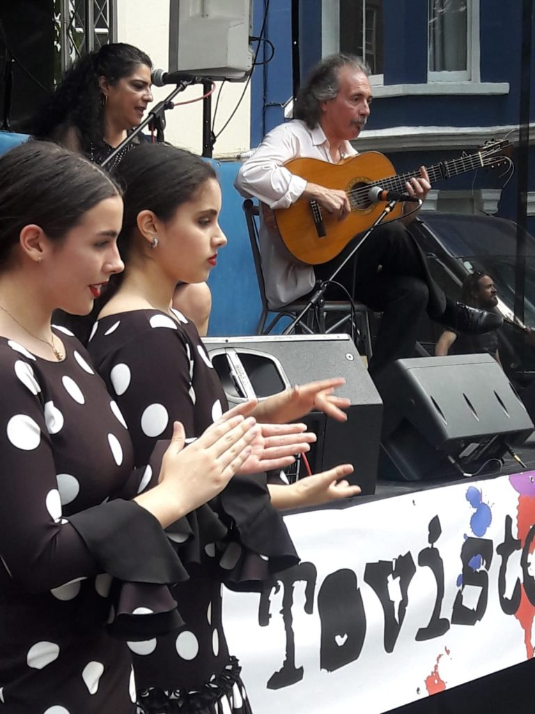 Portobello Festival 2018 2 - La Escuela de Baile - London Flamenco School.jpeg