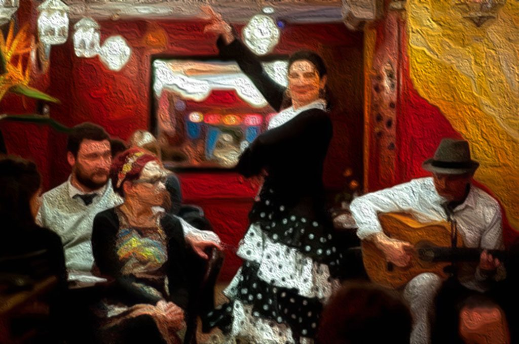 Bar Gansa - flamenco in London - tapas bar