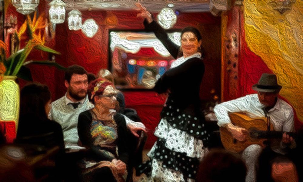 Bar Gansa - flamenco in London - tapas bar