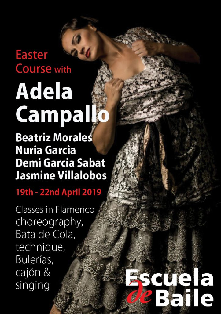 Easter Course 2019 - Escuela de Baile - Flamenco workshops in London