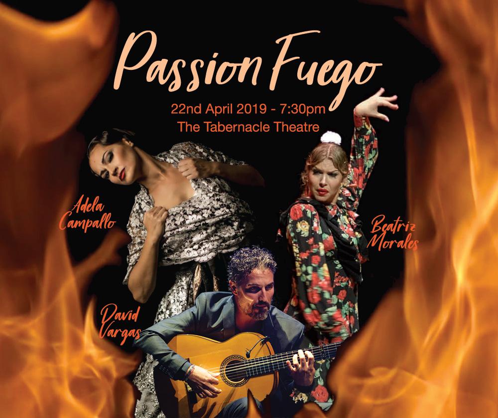 Passion Fuego 2019 - Flamenco Concert in London - Adela Campallo, Beatriz Morales, David Vargas