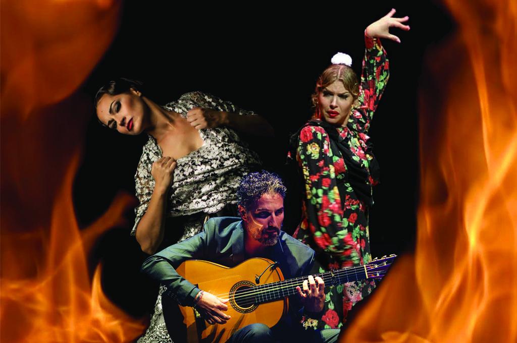 Passion Fuego - Flamenco Concert London - Adela Campallo, Beatriz Morales, David Vargas