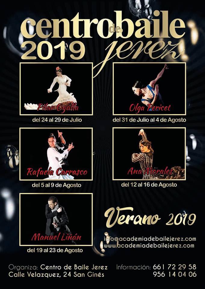 Summer Courses in Jerez 2019 - Centro de Baile Jerez