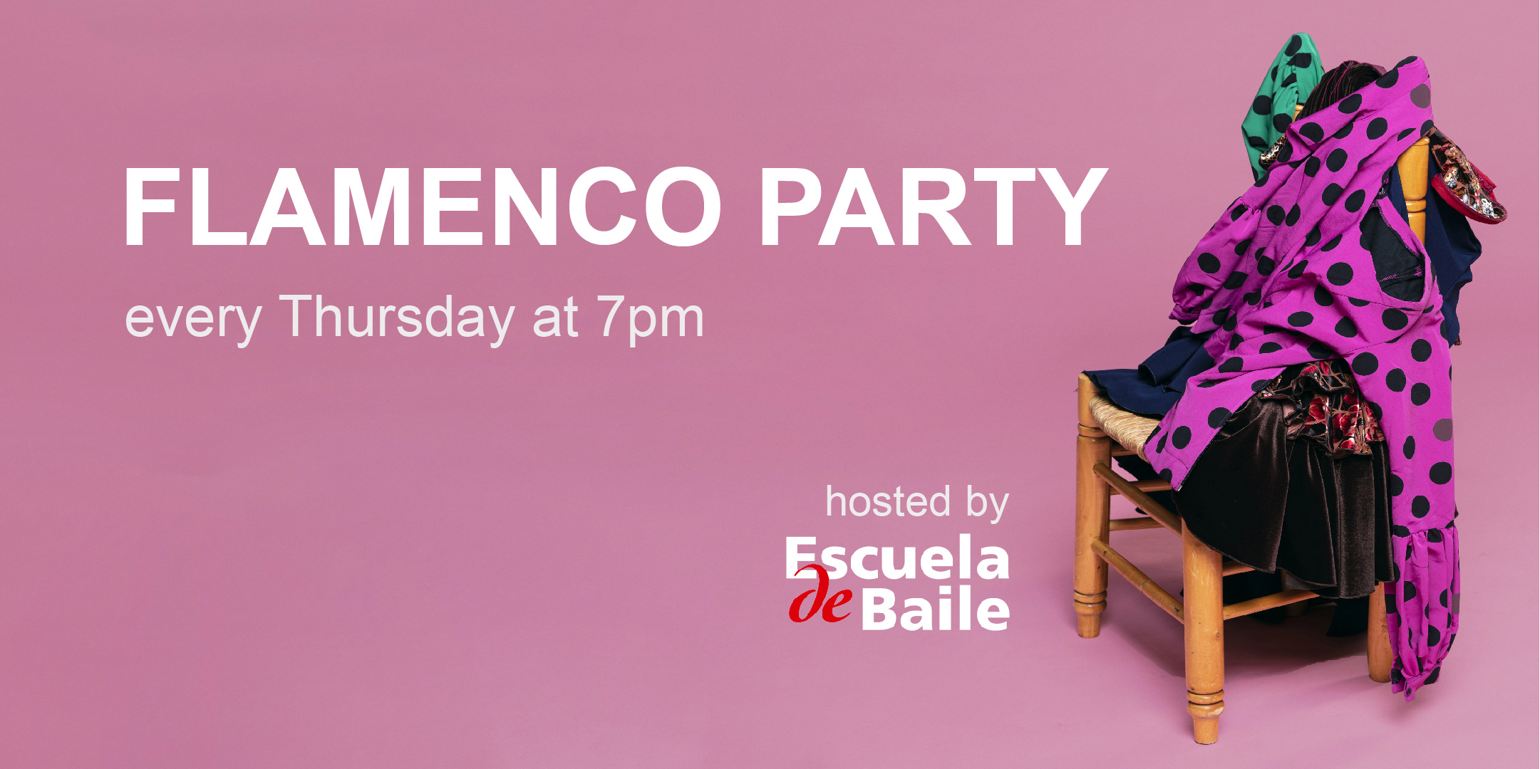 Escuela de Baile - Flamenco Party every Thursday on Zoom